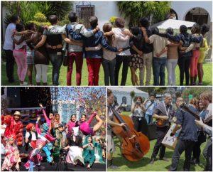 קיטו הבירה האקוודורית שלבשה חג ואירחה מעל 40,000 אורחים בשעריה