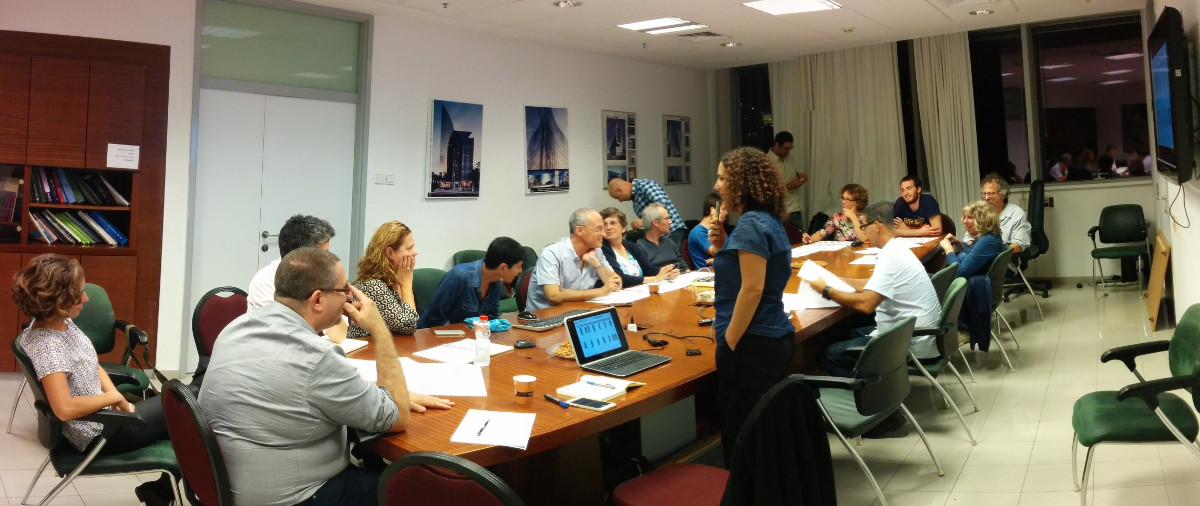 מפגש מס' 3 של פורום מקצועי מלווה (וואדיות העיר חיפה) - 1.11.2016